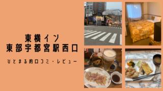 『東横イン東武宇都宮駅西口』駅近に泊まって餃子を食う!ひとまる的口コミ・レビュー