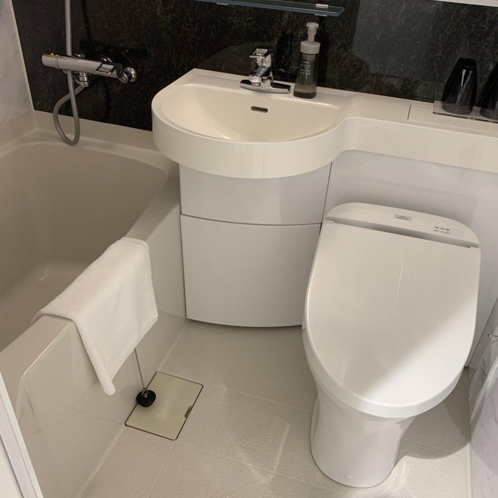 パールホテル新宿曙橋バスルーム