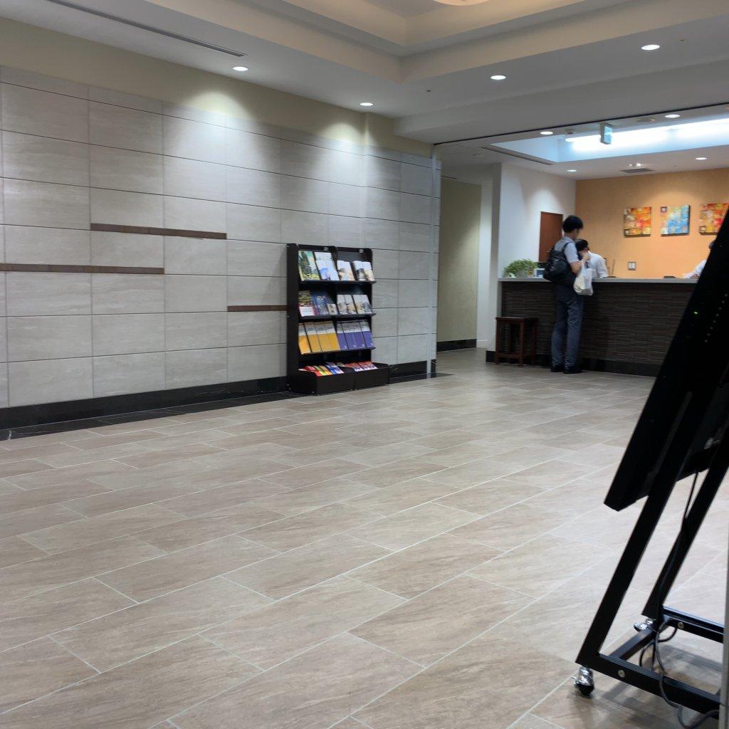 パールホテル新宿曙橋フロント