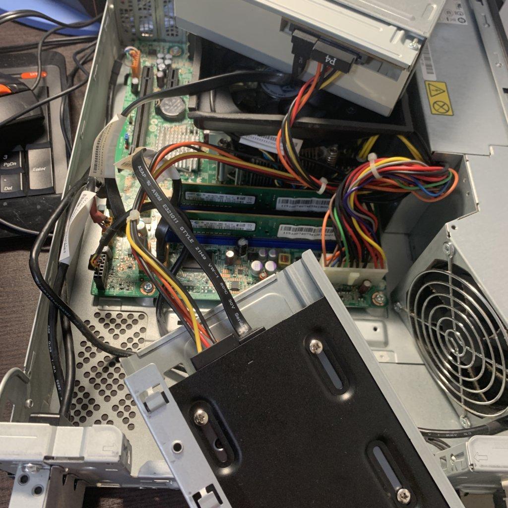 SSD取り換え