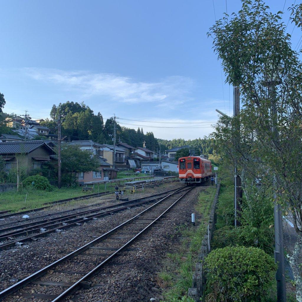 明知鉄道 明智駅