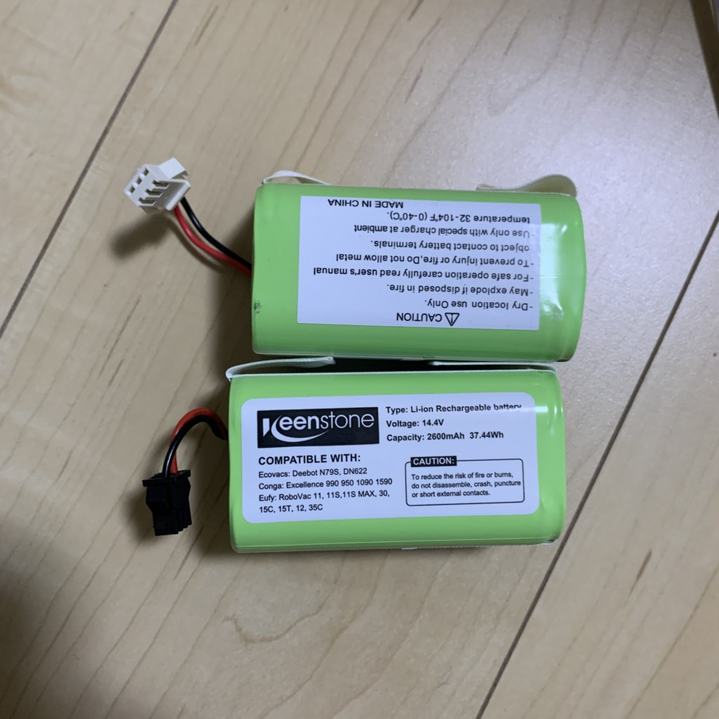 DEEBOTN79T バッテリー