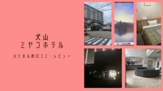 愛知県に住みつつ犬山市にある『犬山ミヤコホテル』に宿泊するという選択