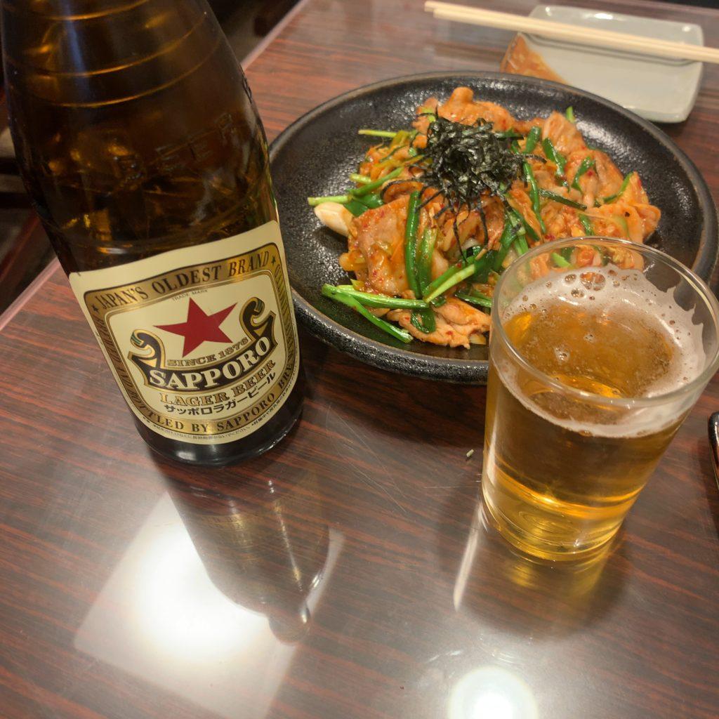 お食事処『平成』の豚キムチ