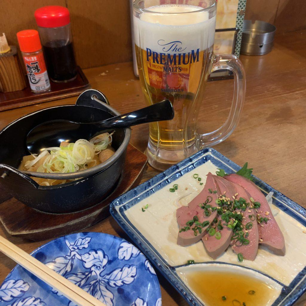 居酒屋『うみブタ』ビール