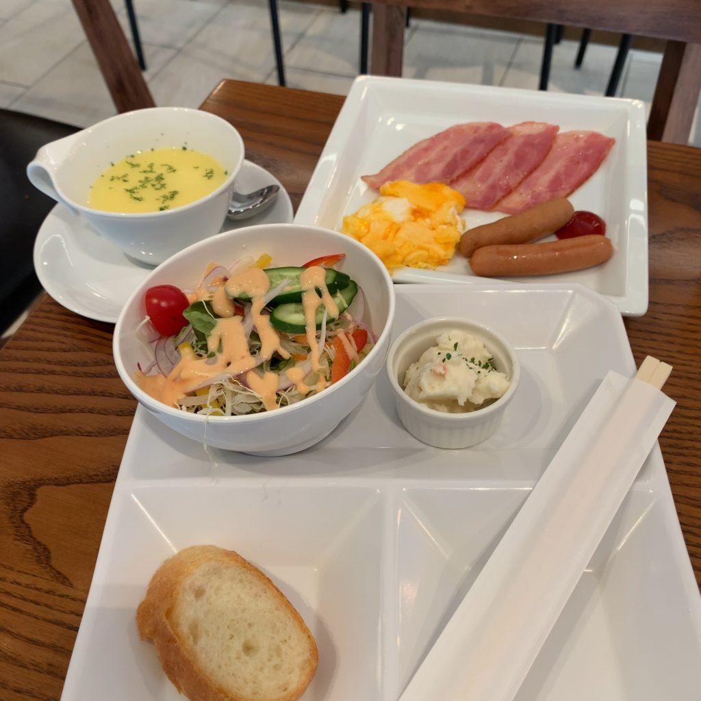 『HOTEL EMIT UENO(ホテルエミット上野)』朝食